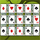 Solitaire as de pique / Jeu cartes